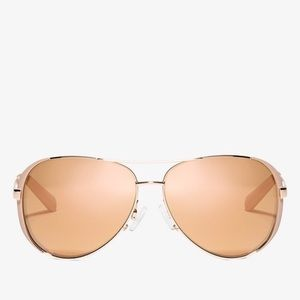 Micheal Kors Rose Gold Chelsea Sunglasses